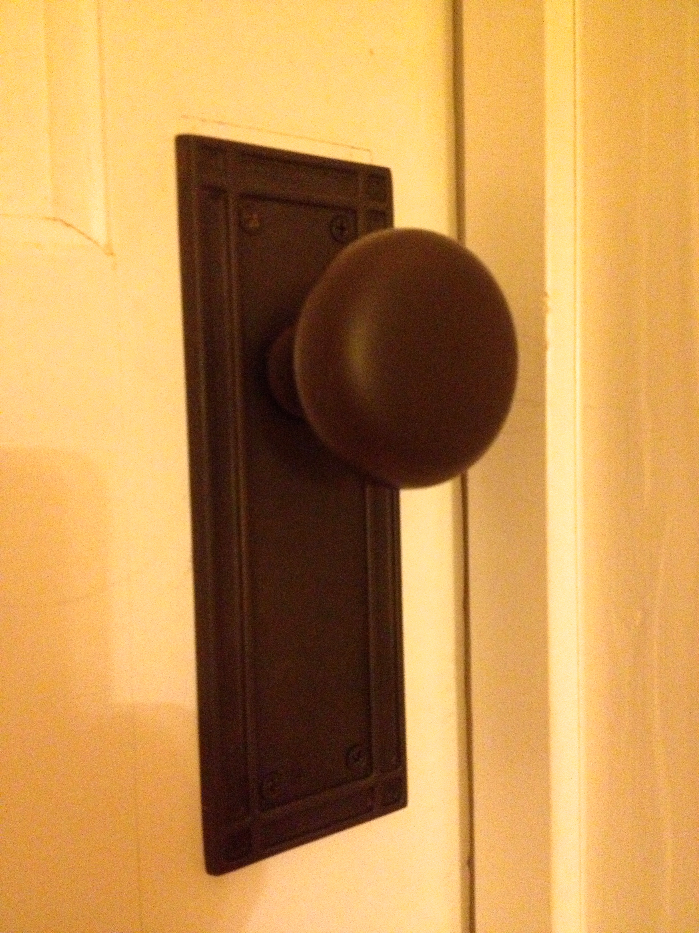 New Doorknob