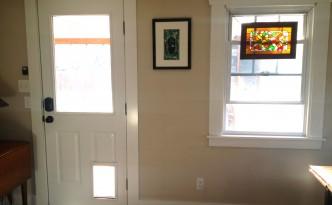 Kitchen Door After
