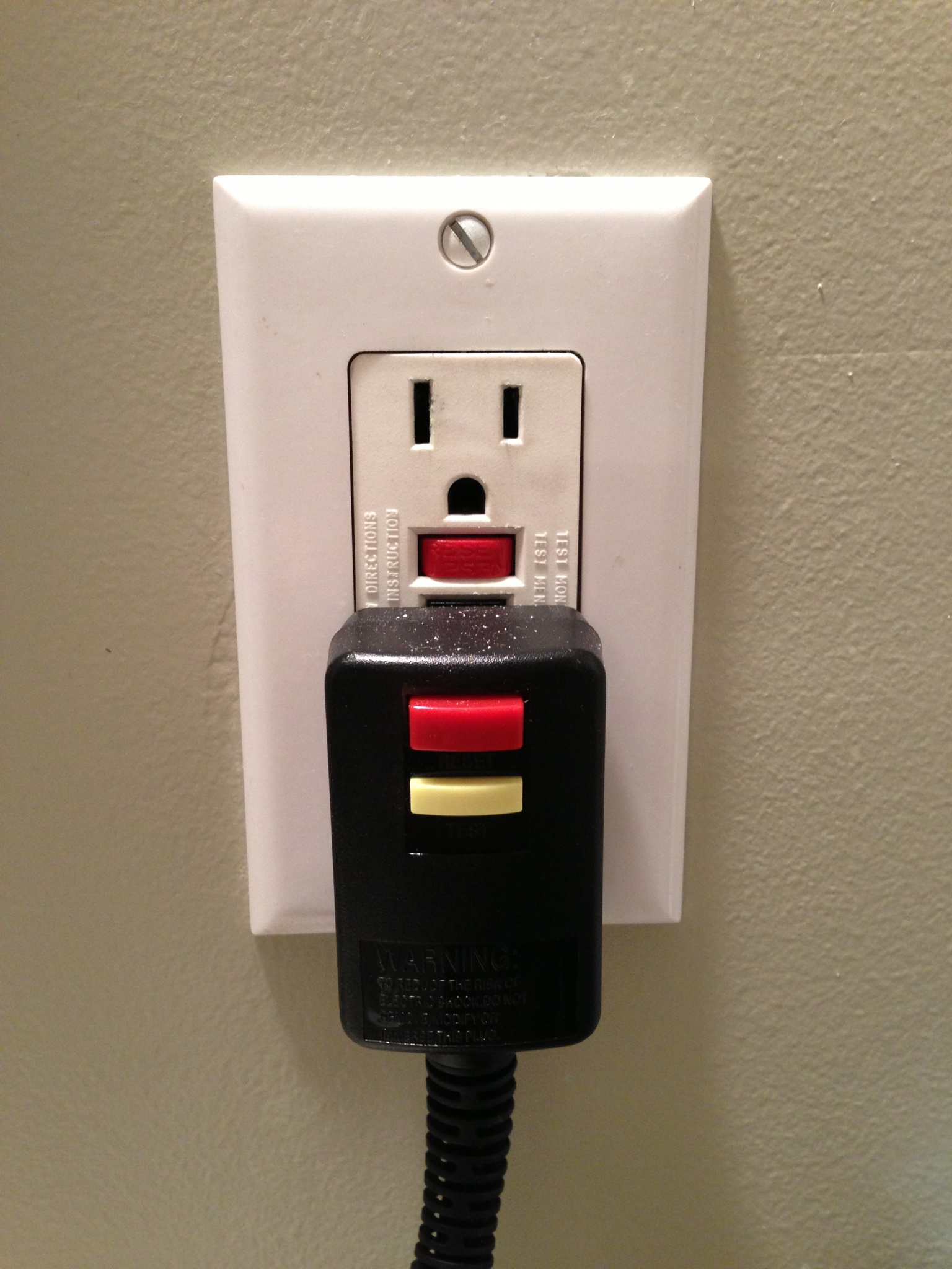 Bathroom Outlet