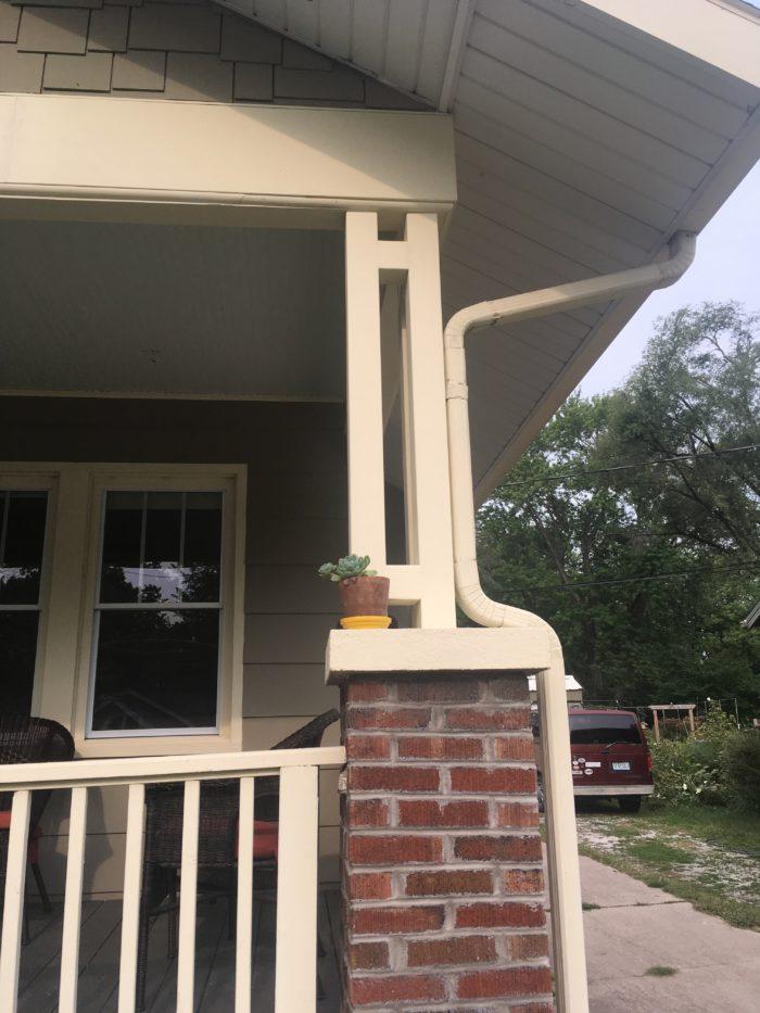 Porch Column After